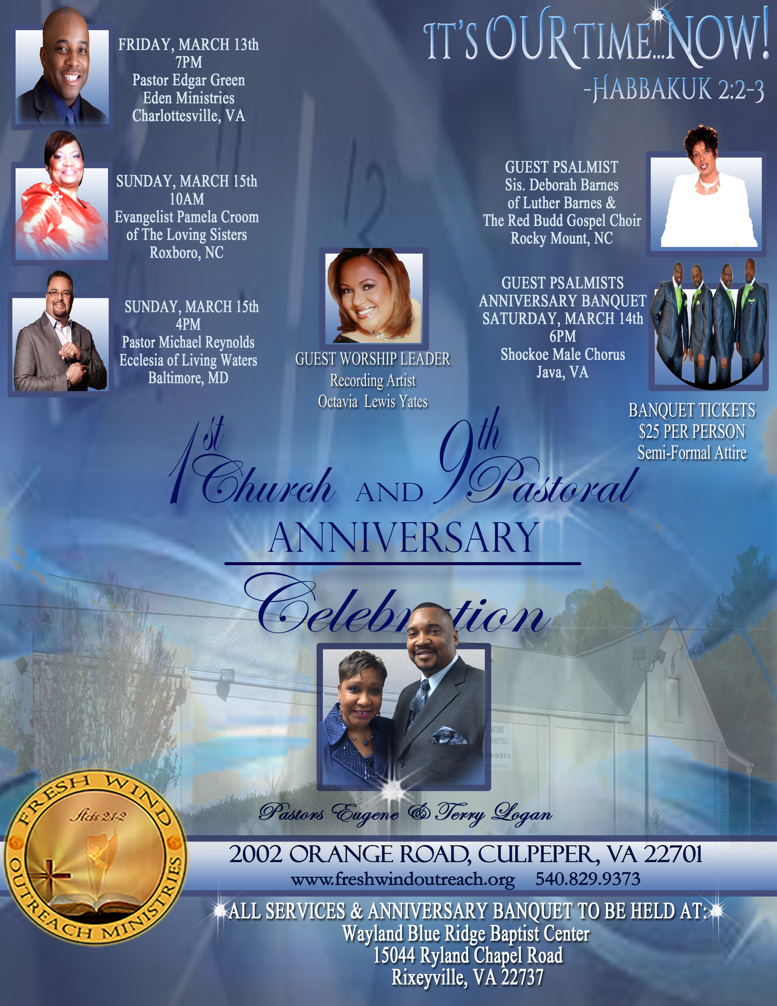fresh wind outreach ministries 1st church and 9th pastoral 2015 anniversary celebration flyer final revised